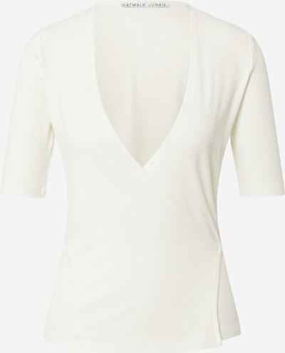 CATWALK JUNKIE T-shirt 'GRACE' en blanc, Vue avec produit