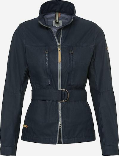 CAMEL ACTIVE Jacke in beige / dunkelblau / grau, Produktansicht