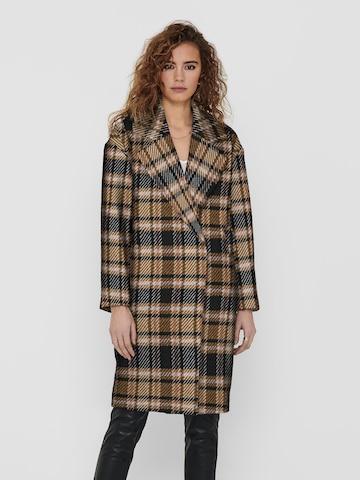 ONLY Between-Seasons Coat 'Sofia' in Brown