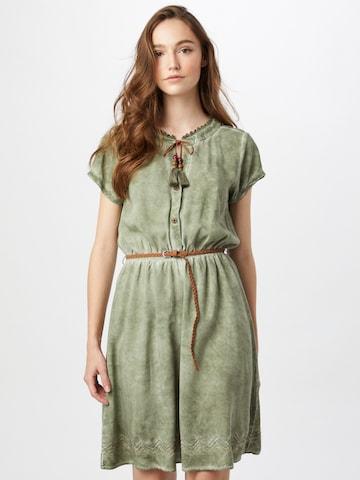 Eight2Nine Košeľové šaty - Želená