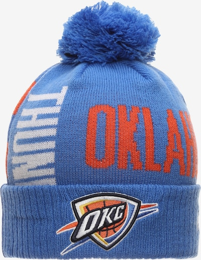 NEW ERA Bommelmütze 'NBA Oklahoma City Thunder Tip Off Series' in blau / rot, Produktansicht