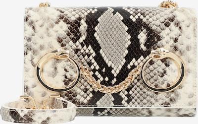 roberto cavalli Millie Umhängetasche Leder 19 cm in beige / schwarz, Produktansicht