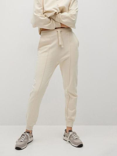 MANGO Hose 'PARIS' in beige, Modelansicht