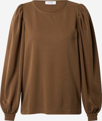 Love & Divine Shirt 'Love486' in braun, Produktansicht