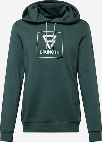 BRUNOTTI Sweatshirt 'Patcher' in Grün