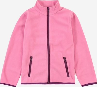 PLAYSHOES Fleece jacket in Dark purple / Pink, Item view