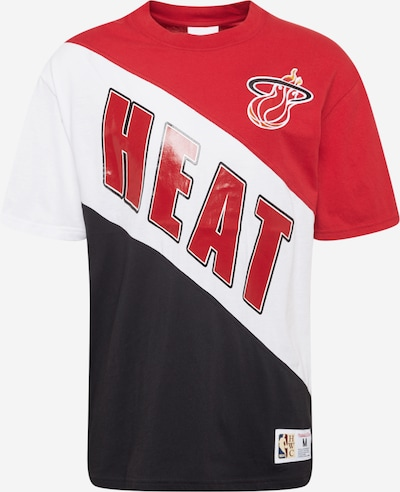 Mitchell & Ness Shirt 'Play By Play' in Red / Black / White, Item view