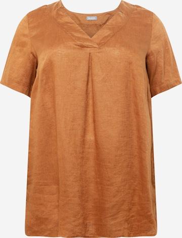 SAMOON Tunic in Brown