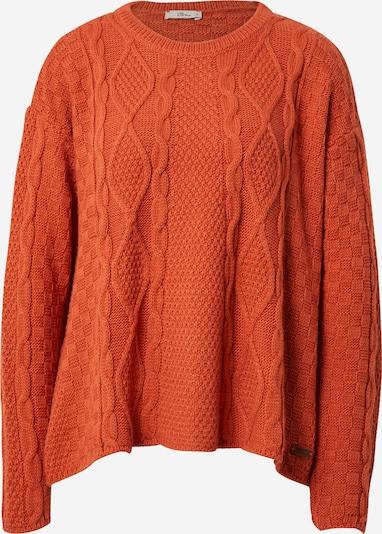 LTB Pullover 'ZAFACO' in orangerot, Produktansicht