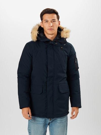 Schott NYC Zimný kabát 'Nelson' - námornícka modrá, Model/-ka