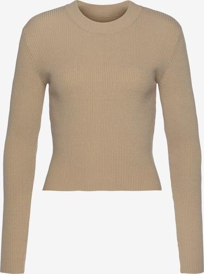 LASCANA Pullover in beige, Produktansicht