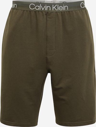 Calvin Klein Underwear Pyžamové nohavice - svetlosivá / kaki / biela, Produkt