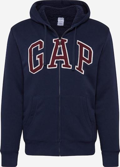 GAP Bluza rozpinana w kolorze granatowy / czerwone wino / białym, Podgląd produktu