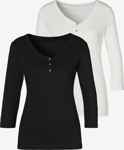 VIVANCE T-shirt en noir / blanc, Vue avec produit