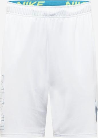 NIKE Spordipüksid, värv valge