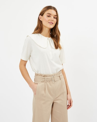 minimum Blouse in White, View model