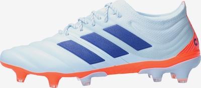 ADIDAS PERFORMANCE Fußballschuh in royalblau / hellblau / orange, Produktansicht