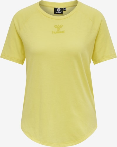 Hummel T-Shirt 'Vanja' in gelb, Produktansicht