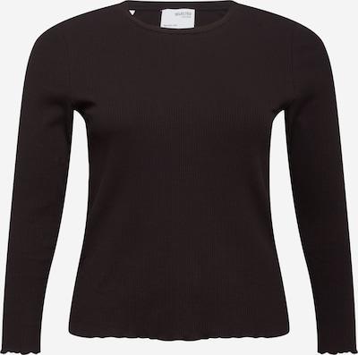 Selected Femme Curve Majica 'Nanna' | črna barva, Prikaz izdelka