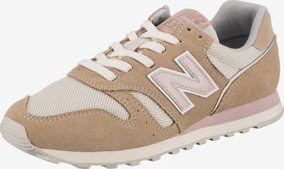 new balance Platform trainers in Light beige / Dusky pink / White, Item view