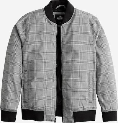 Demisezoninė striukė 'HARRINGTON' iš HOLLISTER , spalva - pilka / juoda / balta, Prekių apžvalga