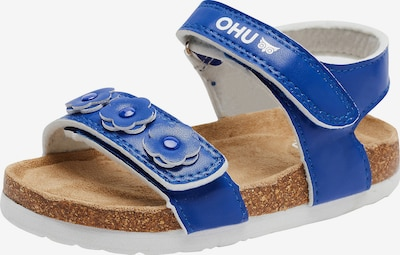 myToys-COLLECTION Sandale 'Frieda' in royalblau / weiß, Produktansicht