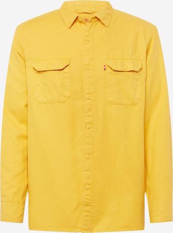 LEVI'S Hemd 'Jackson Worker' in Gelb
