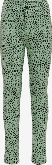 KIDS ONLY Broek 'KONCRYSTAL PANTS CS JRS' in de kleur Groen / Zwart, Productweergave