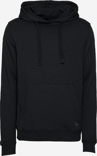 Bluză de molton Resteröds pe negru, Vizualizare produs