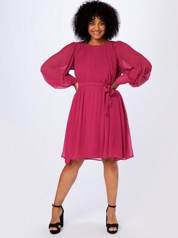 Rochie tip bluză de la Zizzi pe roz
