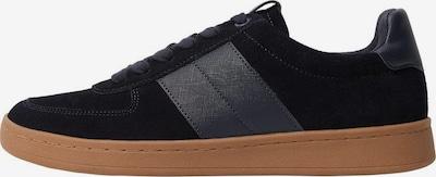 MANGO MAN Sneakers laag 'Putxet' in de kleur Navy / Donkerblauw / Bruin, Productweergave