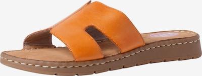 JANA Pantolette in orange, Produktansicht