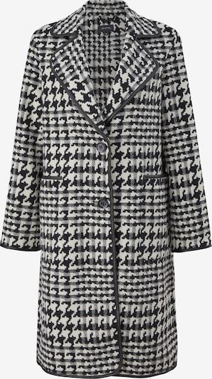 COMMA Between-Seasons Coat in Black / White, Item view