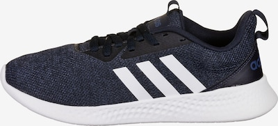 ADIDAS PERFORMANCE Chaussure de course en bleu chiné / noir / blanc, Vue avec produit