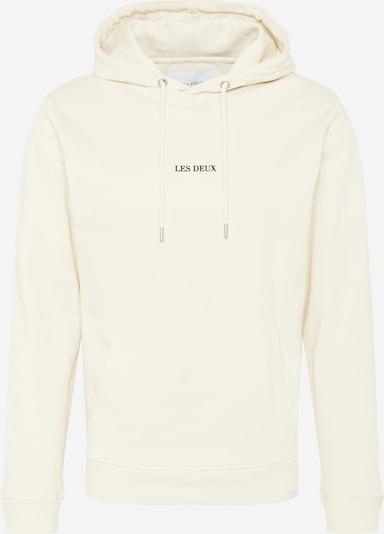 Les Deux Sweat-shirt 'Lens' en noir / blanc, Vue avec produit
