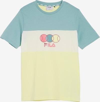 FILA Shirt 'Bebbels' in de kleur Blauw / Geel / Pink / Wit, Productweergave
