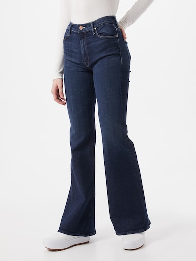 MOTHER Jeans in blue denim, Modelansicht