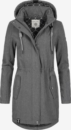Peak Time Raincoat in mottled grey, Item view