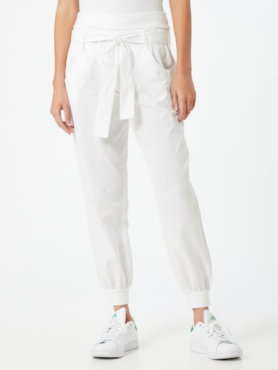 BUFFALO Harem trousers in White, View model