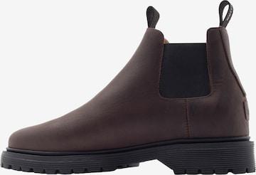 EKN Footwear Chelsea Boots 'WILLOW' in Braun