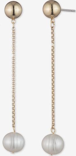 Lauren Ralph Lauren Обеци в злато / перлено бяло, Преглед на продукта