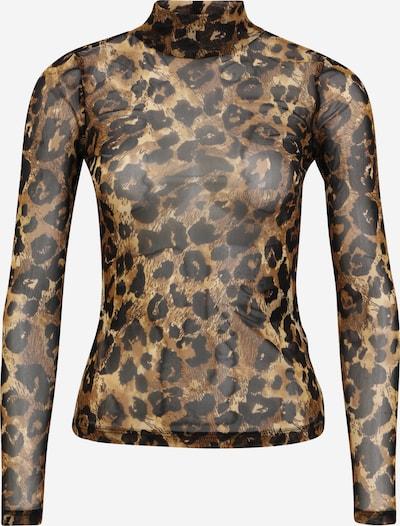 OBJECT Petite Shirt 'SIRO' in braun / kastanienbraun / hellbraun, Produktansicht