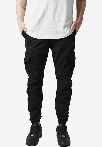 Urban Classics Hose in schwarz, Modelansicht