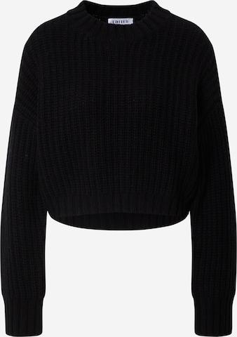 EDITED Sweter 'Melanie' w kolorze czarny