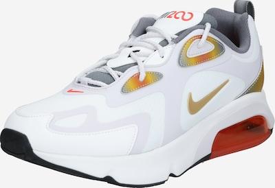 NIKE Sneaker 'Air Max 200 SE' in gold / dunkelrot / weiß, Produktansicht