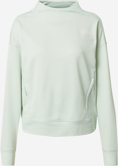 THE NORTH FACE Sweat de sport 'BASIN' en menthe / blanc, Vue avec produit