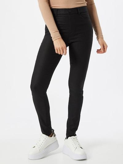 Freequent Hose 'MIITO' in schwarz, Modelansicht