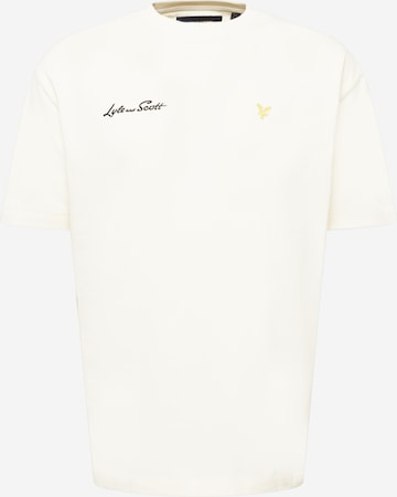 T-Shirt Lyle & Scott en jaune
