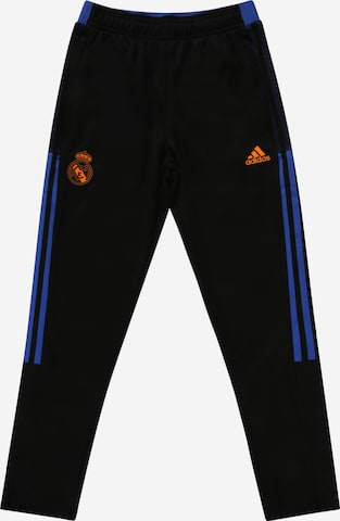 Pantalon de sport 'Real Madrid Tiro' ADIDAS PERFORMANCE en noir