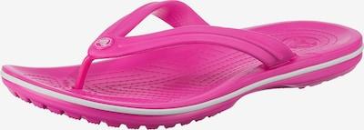 Crocs Zehentrenner in dunkelpink, Produktansicht